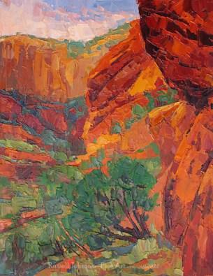 Russell Johnson Prescott Arizona landscape artist