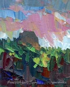 Russell Johnson Prescott landcape artist
