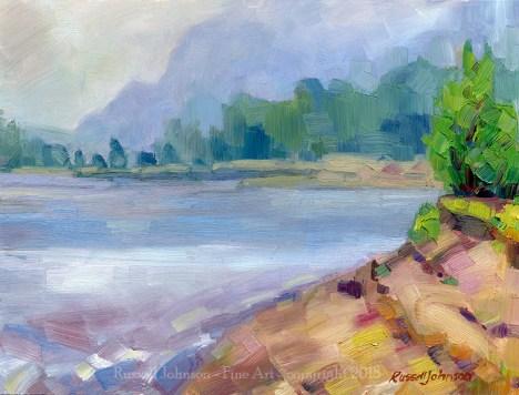 Russell Johnson landscape artist