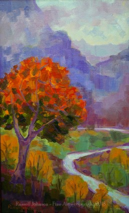 Russell Johnson landscape painter