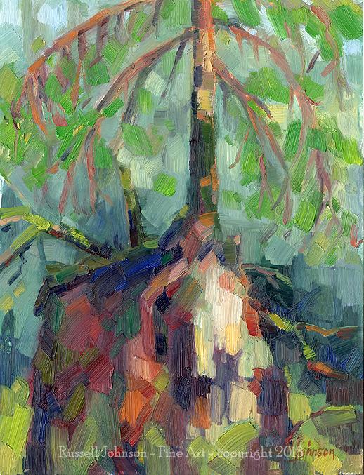 Russell Johnson landscape painter