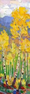 Russell Johnson palette knife oil painter