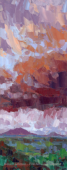 Russell Johnson Prescott AZ oil painter
