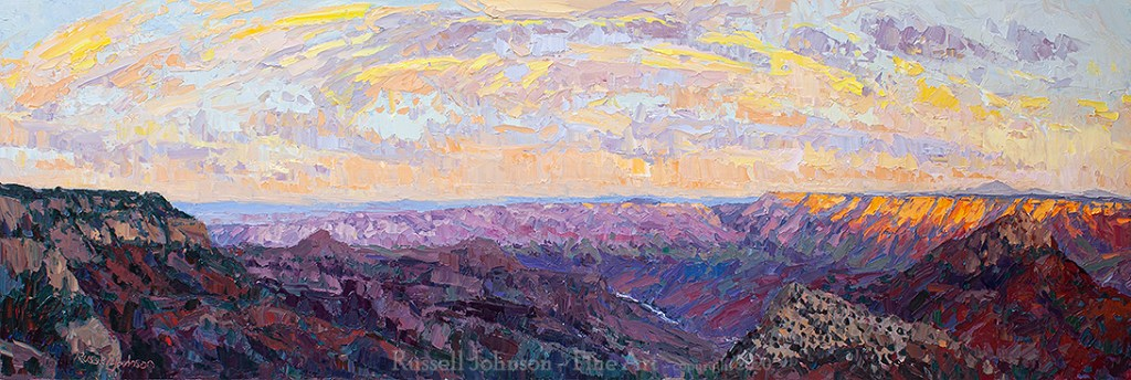 Russell Johnson Grand Canyon artist