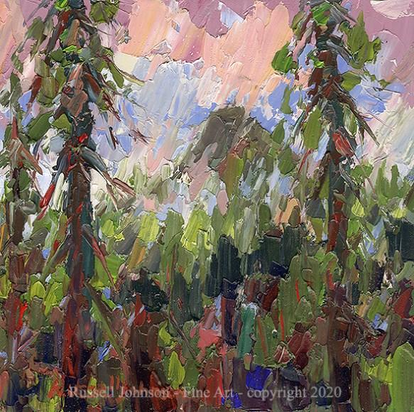 Russell Johnson Prescott, AZ landscape artist