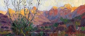 Russell Johnson Grand Canyohn oil painter