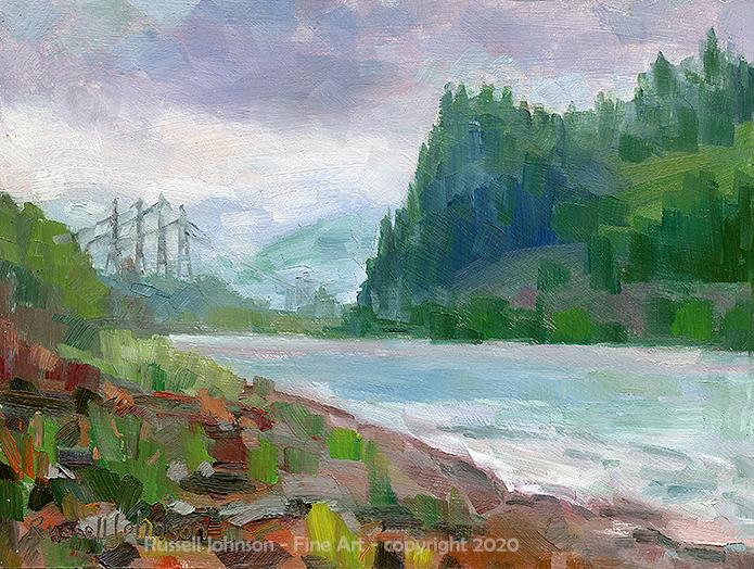 Russell Johnson Prescott, AZ oil painter