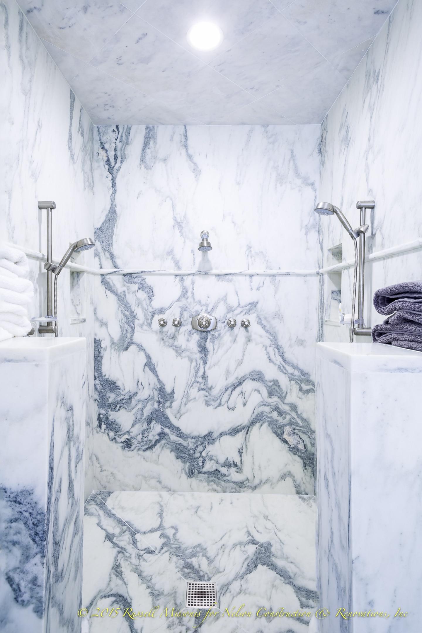Marble Shower Center