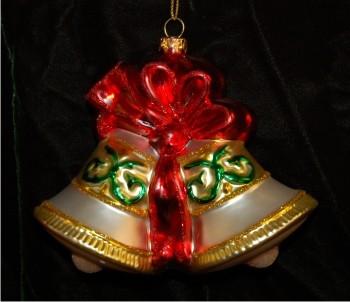 anniversary bells christmas ornament