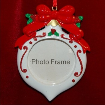 Christmas Ornamentstyled Photo Frame Christmas Ornament