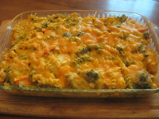 Cheesy Chicken Artichoke Bake with Noodles