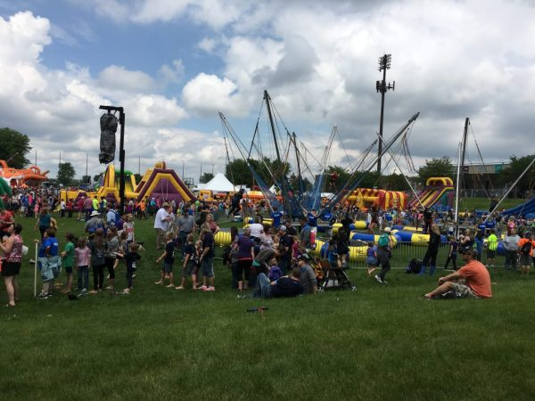 Joyful Noise Music Festival was one of our families favorite events of the year.