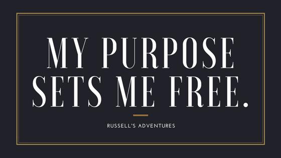 My purpose sets me free.