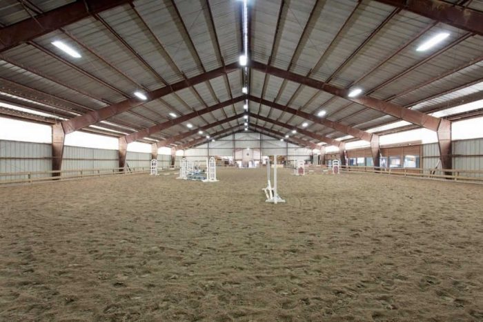 Chatham Stables indoor riding arena