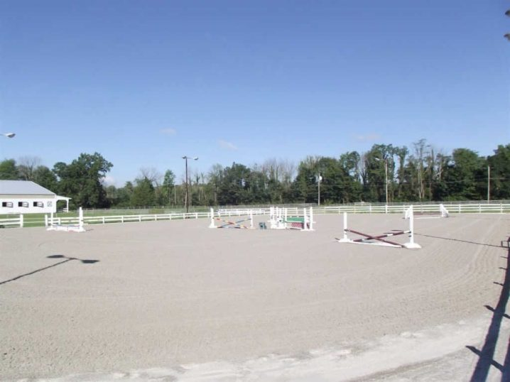 Chatham Stables outdoor riding arena