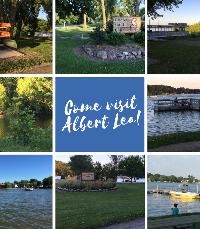 Fun in Albert Lea, Minnesota this summer!