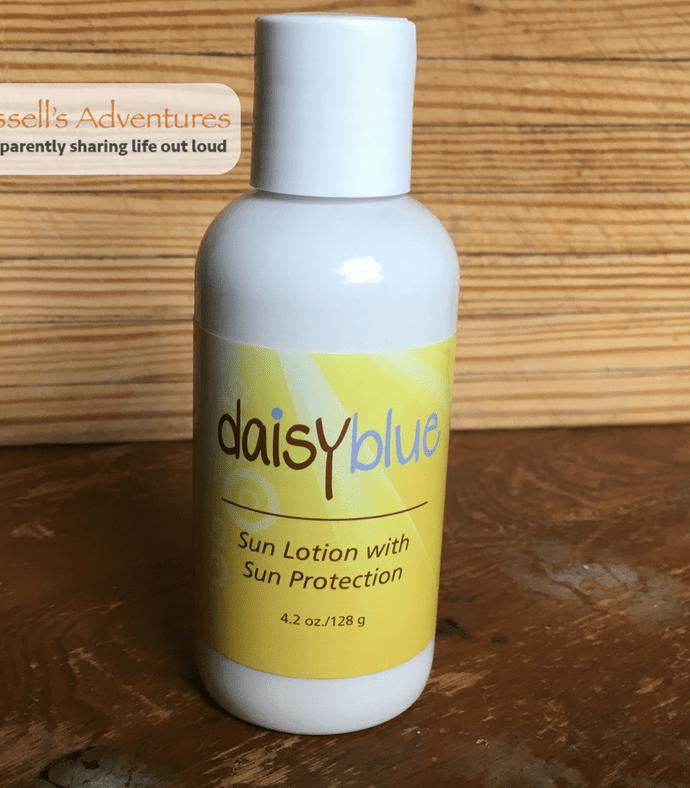 Daisy Blue Naturals has a sunscreen even Naomi can use