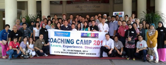 MACC Coaching Camp 2014 Group Photo