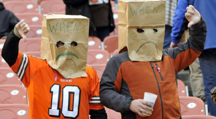 Image result for cleveland browns paper bags gif