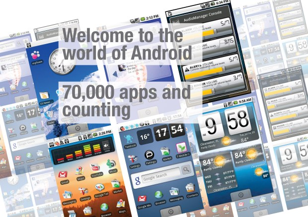 Welcome to Android - 70000 App and Counting