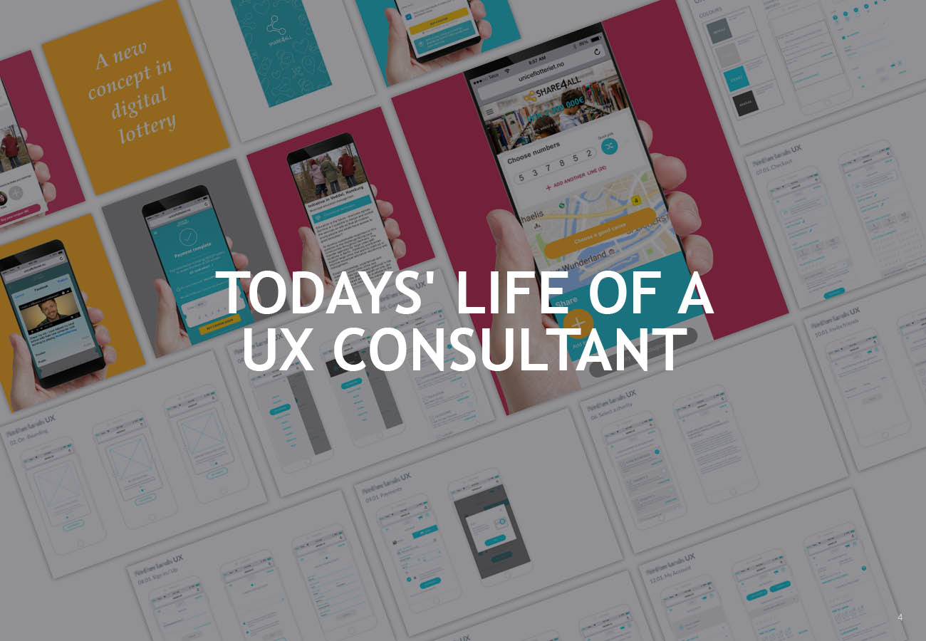 Todays' life of a UX consultant