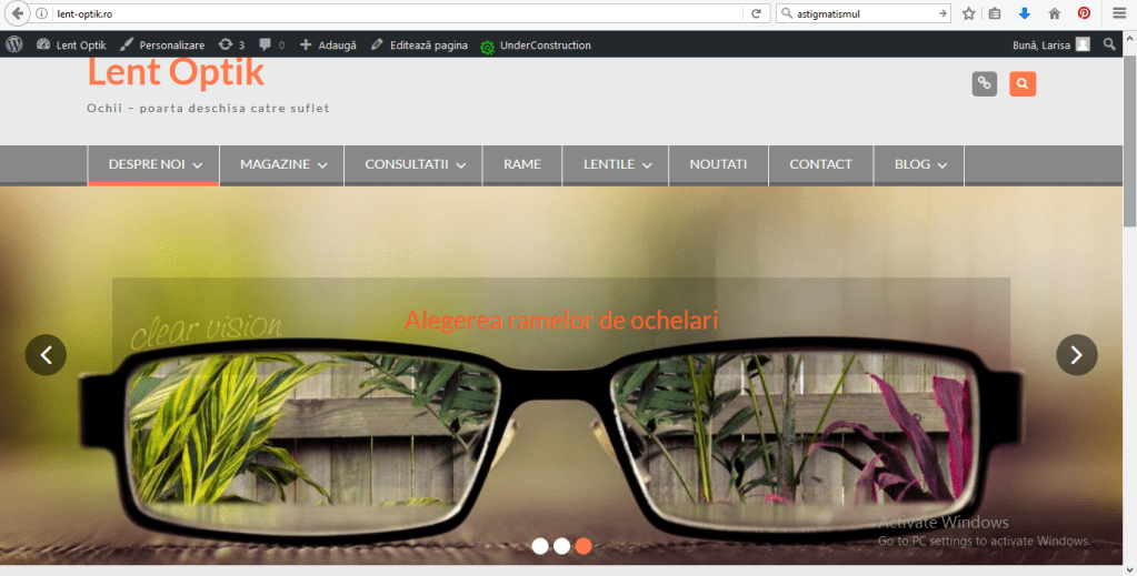 site Lent Optik