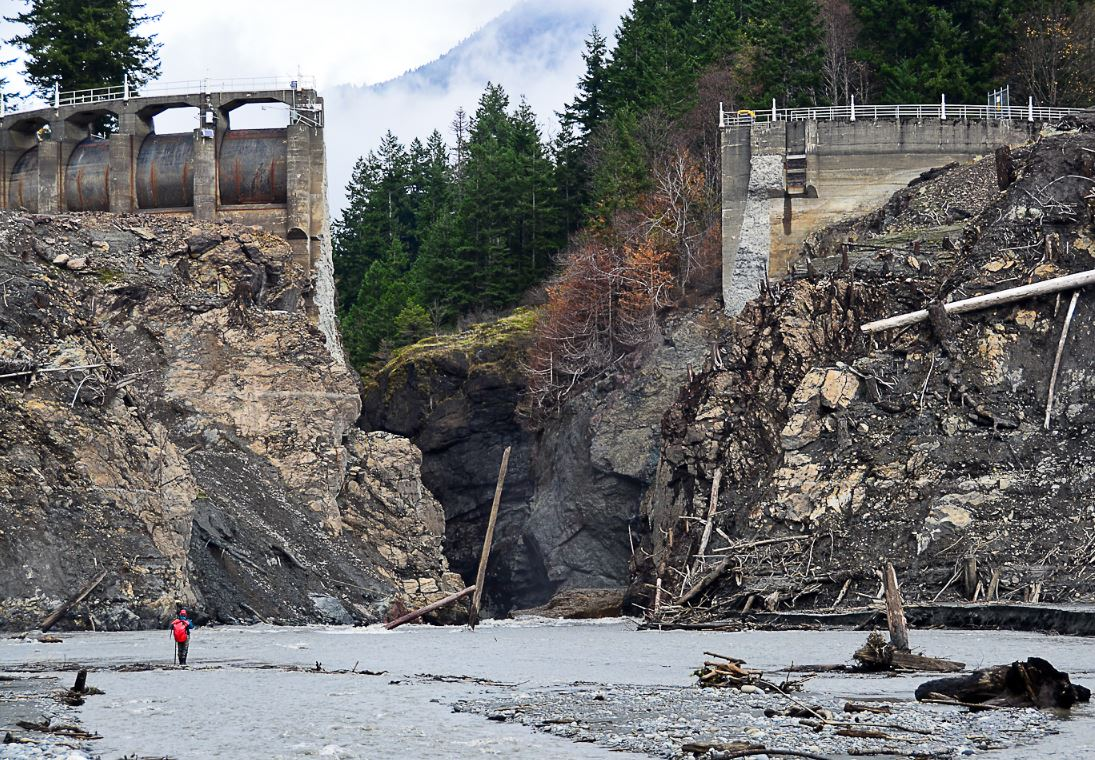 Elwha Clines dam busted