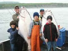 Small boys catch giant halibut, this time the fish lost
