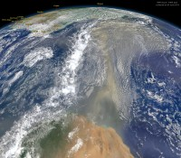 Millions Of Tonnes Of African Dust Crosses The Atlantic 24 June 2014