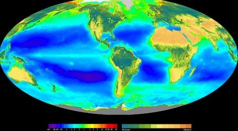 Clouds From Plankton Blooms Control Weather