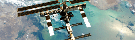 space station with plankton