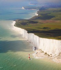 The geological formation of which the White Cliffs of Dover are a part is composed   of trillions of tonnes of the calcium rich shells of ocean plankton