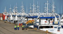 mozambique tuna fleet tied up