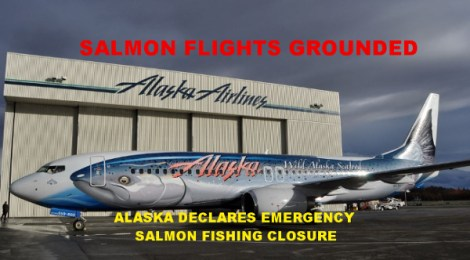 Alaska salmon fishing closure