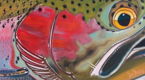 Derek DeYoung Steelhead Fish Face Collection