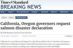 Salmon disaster declaration