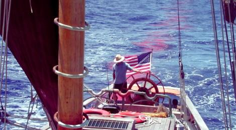 Ragland flys the flag