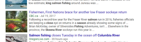 salmon headlines