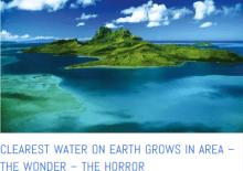 clearest water on earth found ocean oxygen missing