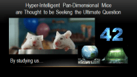 Pan dimensional hyper-intelligent mice