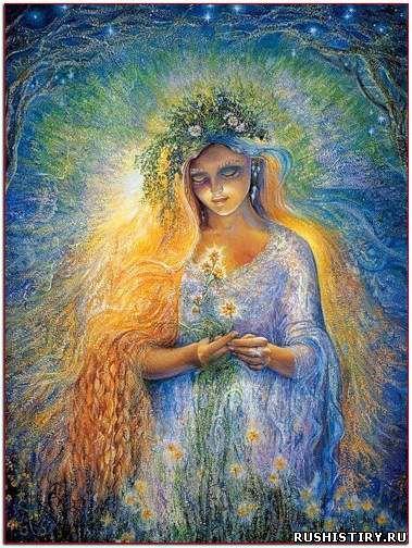 Легенды Руси дочь Лады