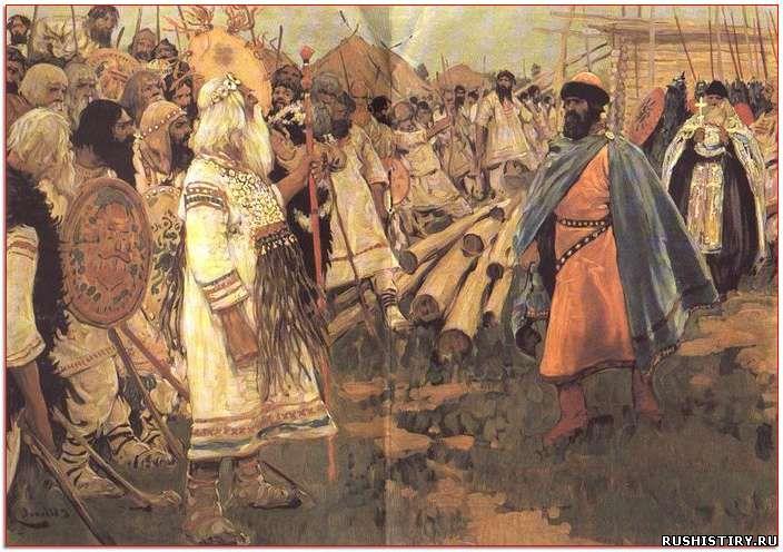Краткое содержание истории древней Руси