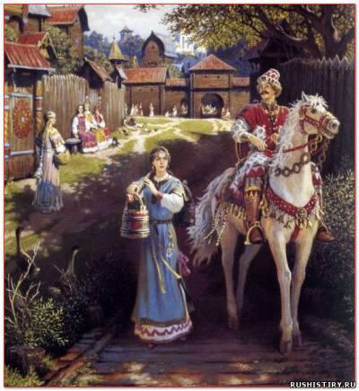 Как жили древние русские народы