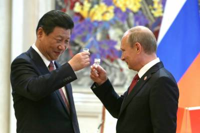 China sides with Russia