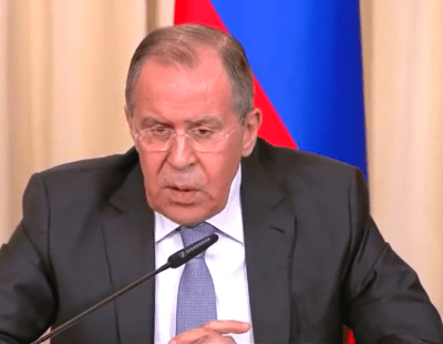 Lavrov is not amused