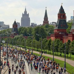 30,000 cyclists to gather in Moscow for Russia's biggest cycle parade