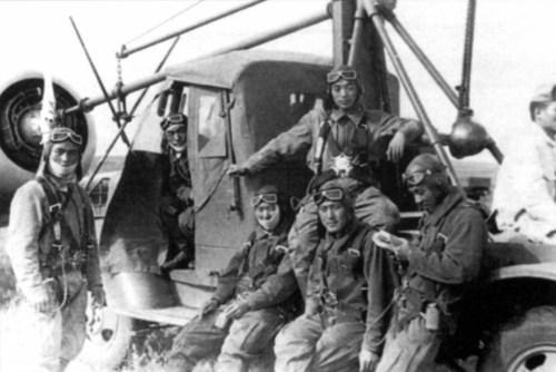 Японские летчики между боями, 1939 год