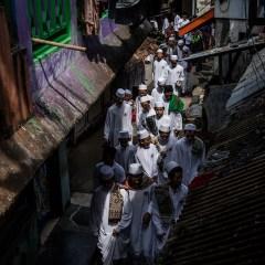 Photo portrait of gigantic Islamic boarding school in Indonesia
