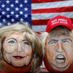 US Presidential Candidate Caricatures