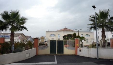 The mosque in Lunel, a townnotorious as a hotbed of jihadis.
